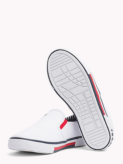 TOMMY HILFIGER Colour-Blocked Slip-On Shoes - WHITE - TOMMY HILFIGER Boys - detail image 1