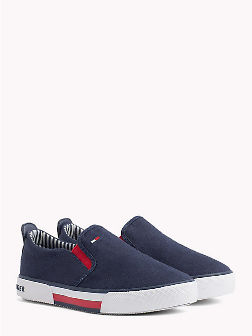 TOMMY HILFIGER Colour-Blocked Slip-On Shoes - BLUE - TOMMY HILFIGER Boys - main image