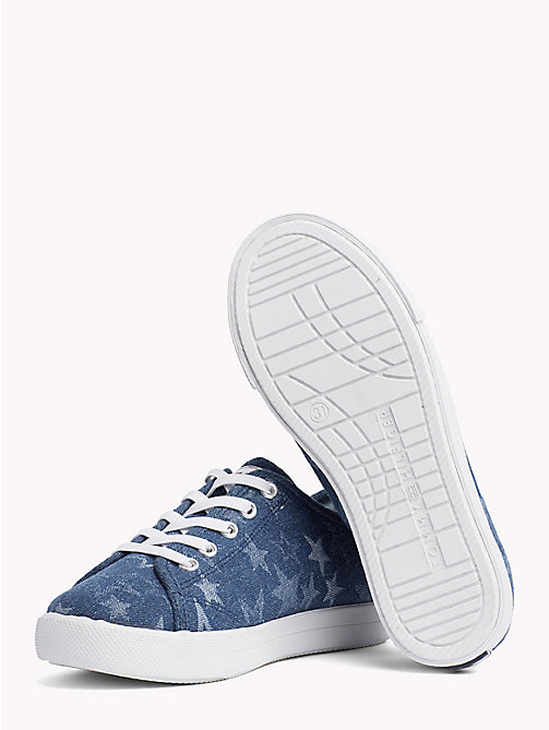 TOMMY HILFIGER Star Print Trainers - JEANS - TOMMY HILFIGER Shoes & Accessories - detail image 1