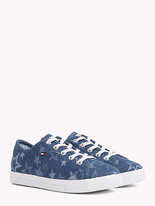 TOMMY HILFIGER Star Print Trainers - JEANS - TOMMY HILFIGER Girls - main image