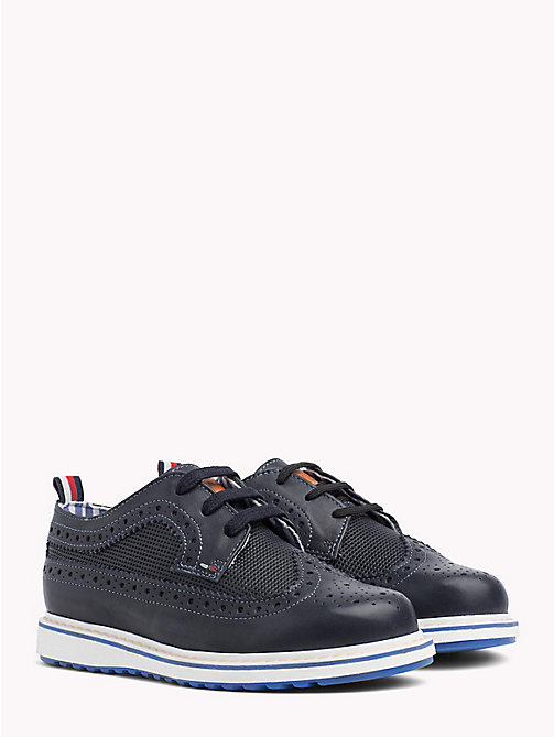 TOMMY HILFIGER Contrast Sole Brogues - JEANS - TOMMY HILFIGER Boys - main image