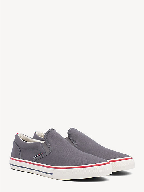 TOMMY JEANS Tommy Jeans Slip-On Trainers - STEEL GREY - TOMMY JEANS Shoes & Accessories - main image