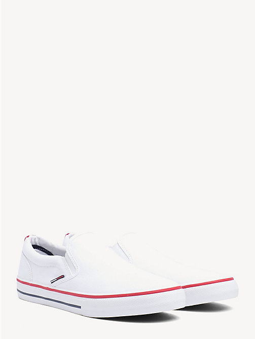 TOMMY JEANS Tommy Jeans Slip-On Trainers - WHITE - TOMMY JEANS Shoes & Accessories - main image