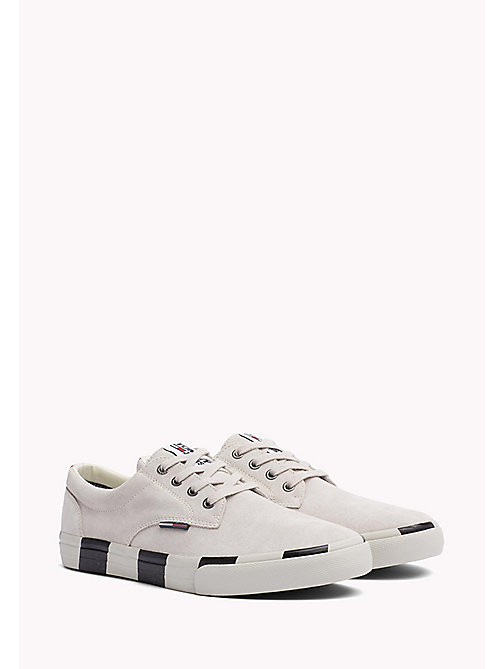 TOMMY JEANS Lace-Up Trainers - ICE - TOMMY JEANS HEREN - main image