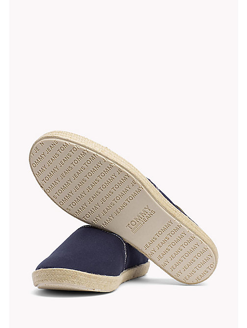 TOMMY HILFIGER Colour-blocked espadrille - INK - TOMMY JEANS Schoenen - detail image 1