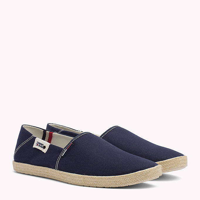 TOMMY JEANS Colour-Blocked Espadrille Shoes - JEANS - TOMMY JEANS Men - main image