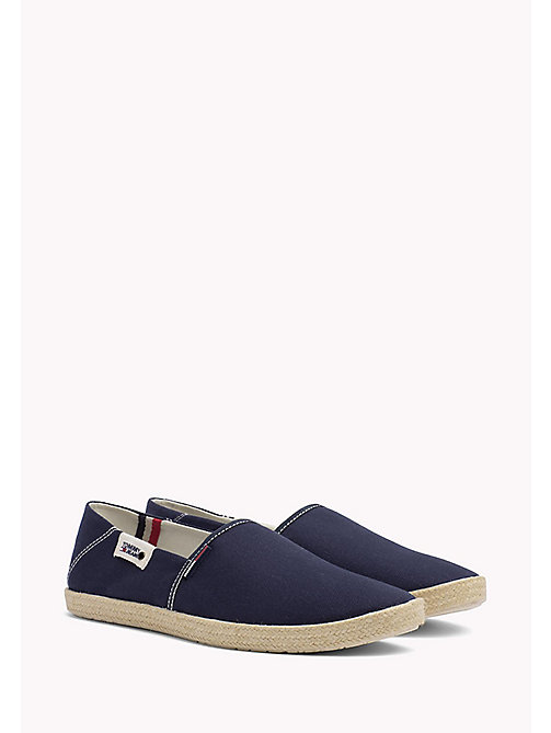 TOMMY HILFIGER Colour-Blocked Espadrille Shoes - INK - TOMMY JEANS Shoes - main image