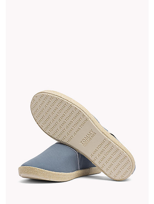 TOMMY JEANS Colour-Blocked Espadrille Shoes - JEANS -  Shoes - detail image 1