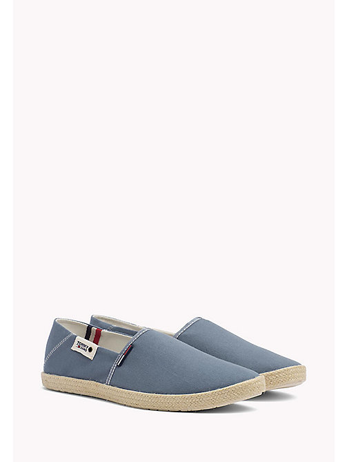 TOMMY JEANS Colour-Blocked Espadrille Shoes - JEANS -  Shoes - main image