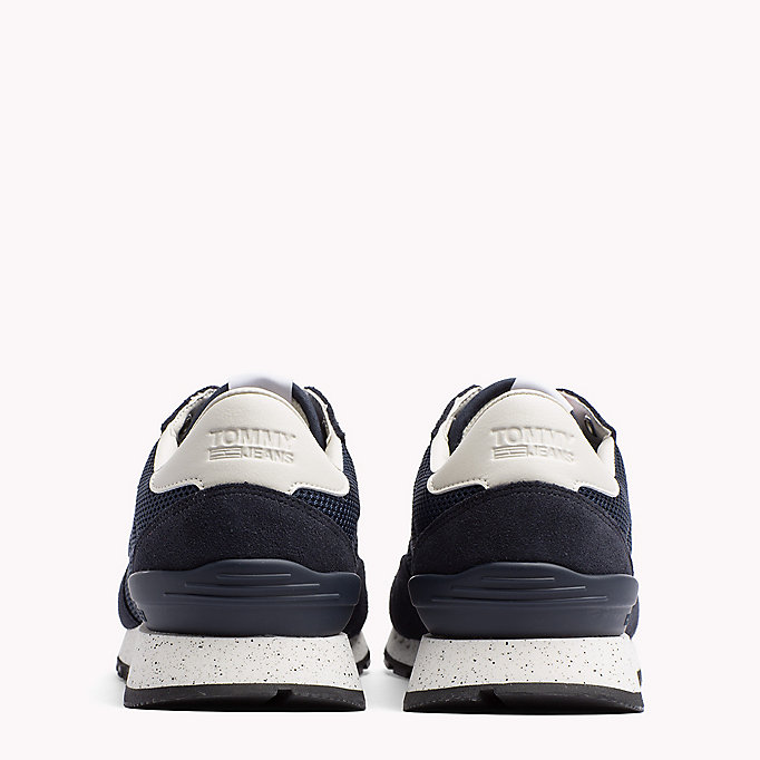TOMMY JEANS Panelled Mesh Trainers - MAGNET - TOMMY JEANS Shoes - detail image 2