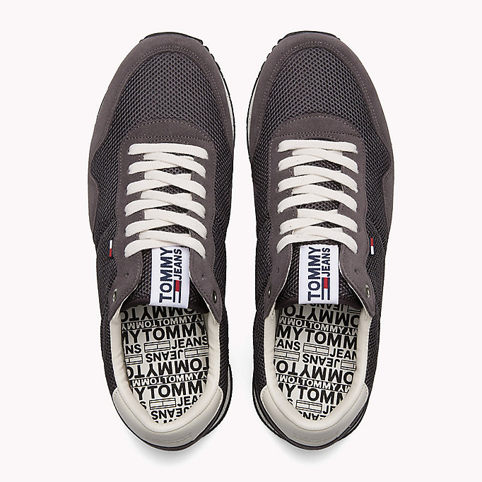 TOMMY JEANS Panelled Mesh Trainers - RWB - TOMMY JEANS Shoes - detail image 3