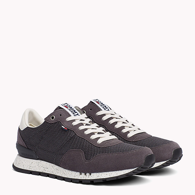 TOMMY JEANS Panelled Mesh Trainers - RWB - TOMMY JEANS Shoes - main image