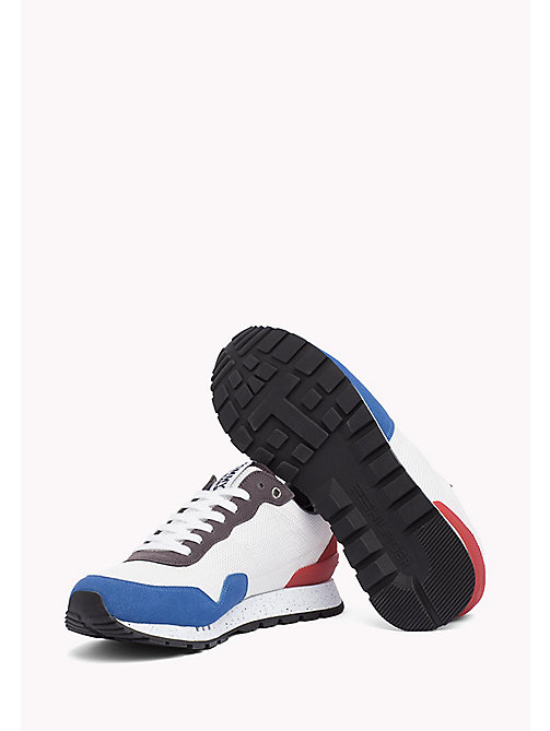 TOMMY JEANS Panelled Mesh Trainers - RWB - TOMMY JEANS Tommy Jeans Shoes - detail image 1