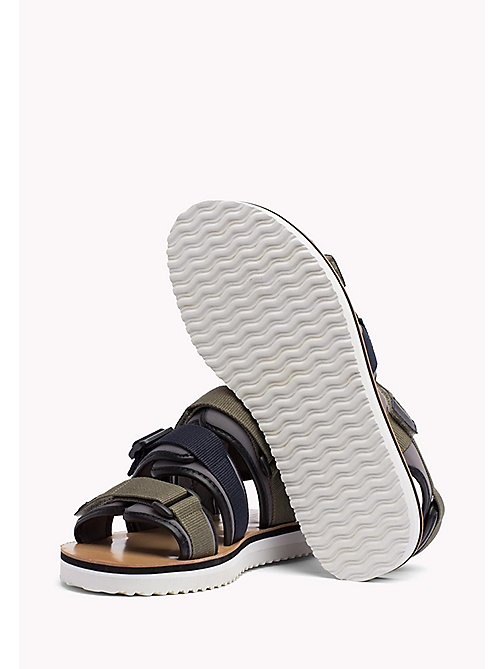 TOMMY JEANS Urban Sandals - DUSTY OLIVE - TOMMY JEANS Festivals Season - detail image 1