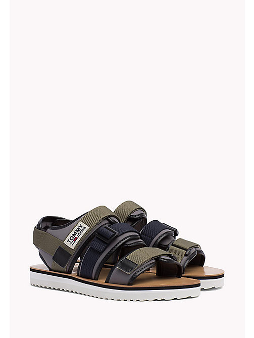 TOMMY JEANS Urban Sandals - DUSTY OLIVE - TOMMY JEANS Summer shoes - main image