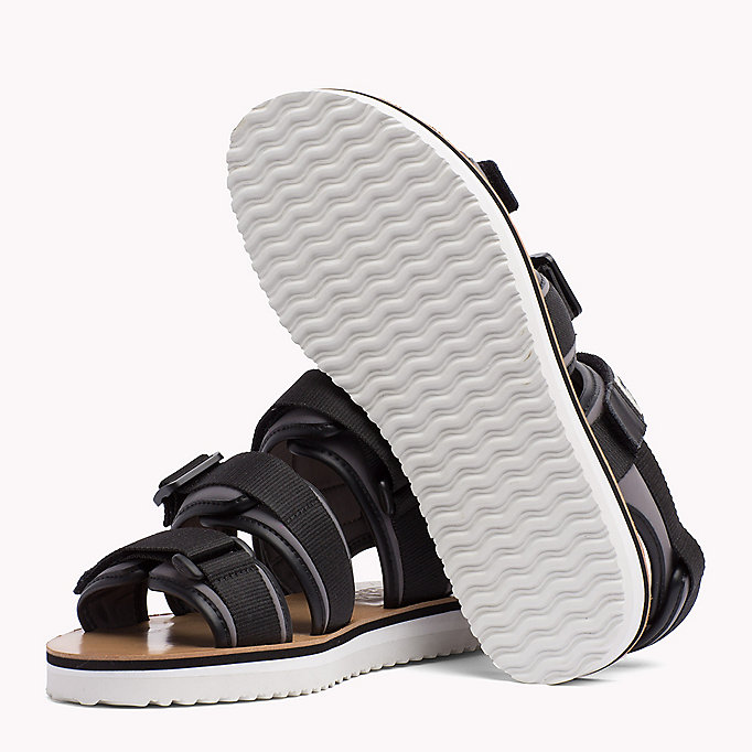 TOMMY JEANS Urban Sandals - DUSTY OLIVE - TOMMY JEANS Men - detail image 1