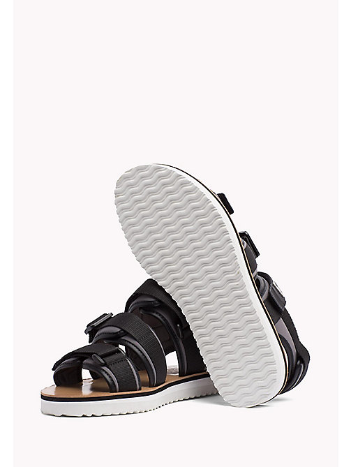 TOMMY JEANS Urban Sandals - BLACK - TOMMY JEANS Festival Season - detail image 1
