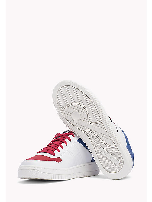 Tommy Basket Trainers - RWB - TOMMY JEANS Shoes - detail image 1