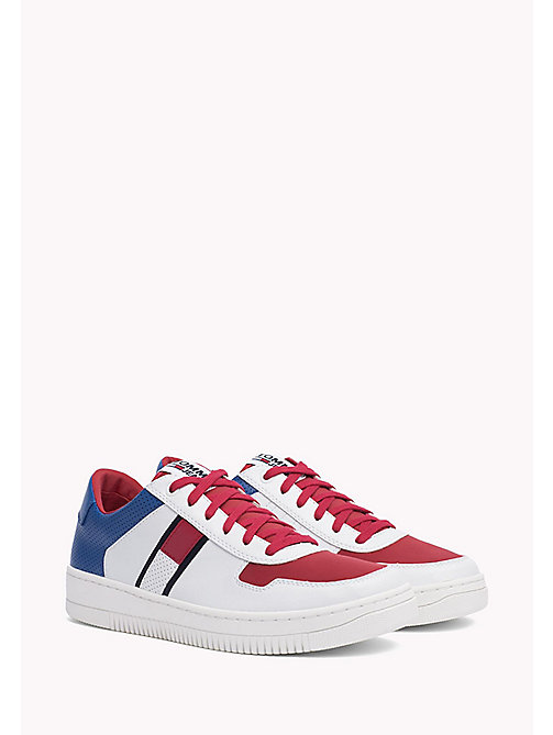 Tommy Basket Trainers - RWB - TOMMY JEANS Shoes - main image