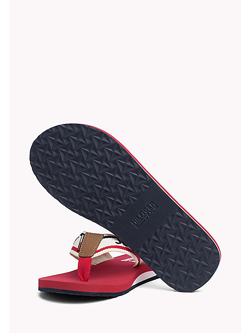 TOMMY JEANS Tommy Jeans Beach Sandals - TANGO RED - TOMMY JEANS Sandals & Flip Flops - detail image 1