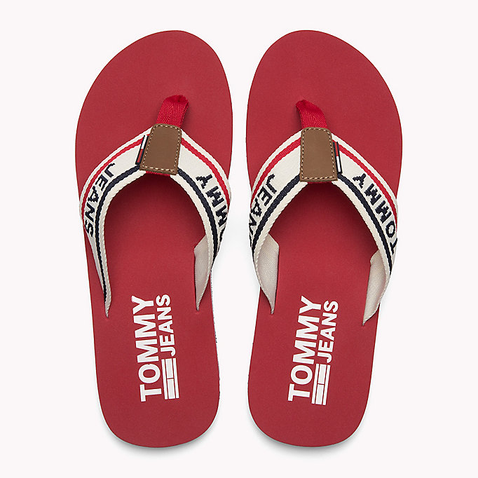 TOMMY JEANS Tommy Jeans Beach Sandals - TOMMY NAVY - TOMMY JEANS Men - detail image 3