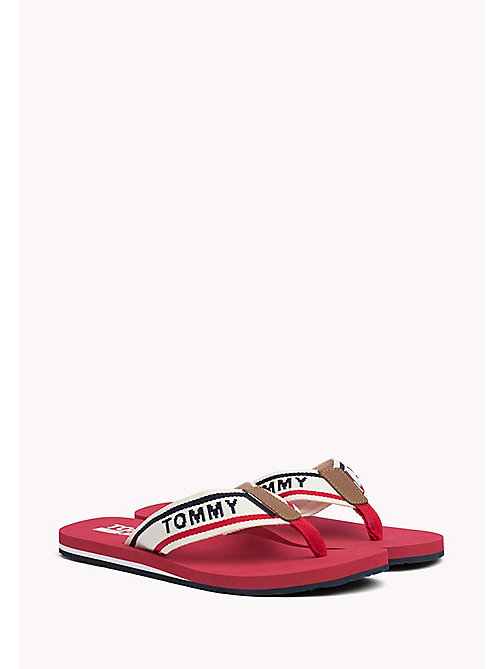 TOMMY JEANS Tommy Jeans Beach Sandals - TANGO RED -  Shoes - main image