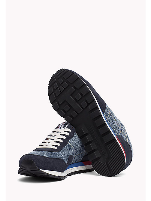 TOMMY JEANS Tommy Jeans Denim Trainers - DENIM - TOMMY JEANS Shoes - detail image 1