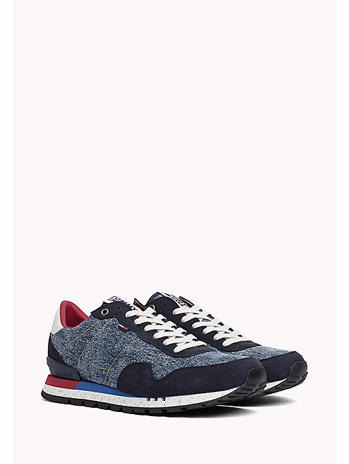 TOMMY JEANS Tommy Jeans Denim Trainers - DENIM - TOMMY JEANS Shoes - main image