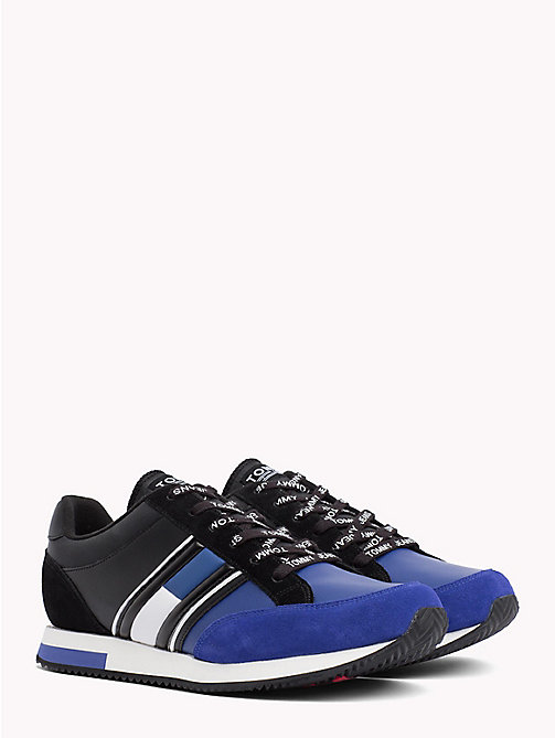 TOMMY JEANS Sneakers retrò color block - BLACK - SURF THE WEB - TOMMY JEANS Scarpe & Accessori - immagine principale