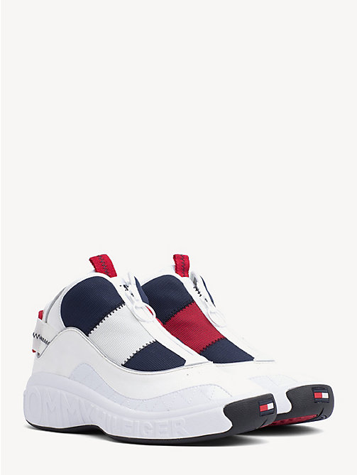 TOMMY JEANS Tommy Jeans High-Top Trainers - RWB - TOMMY JEANS VACATION FOR HER - main image
