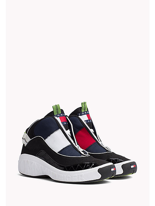 TOMMY JEANS Tommy Jeans High-Top Trainers - RED - WHITE - BLUE - BLACK - TOMMY JEANS Capsule - main image