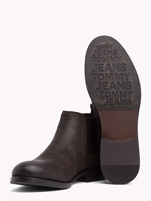 TOMMY JEANS Casual Chelsea Boots - COFFEE BEAN - TOMMY JEANS Shoes & Accessories - detail image 1