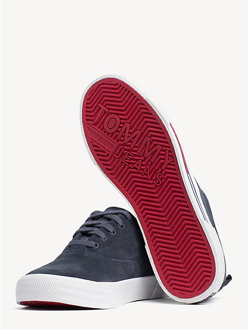 TOMMY JEANS City Suede Lace-Up Trainers - INK - TOMMY JEANS Shoes & Accessories - detail image 1