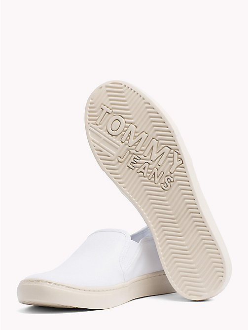 TOMMY JEANS Lightweight Signature Slip-Ons - WHITE - TOMMY JEANS Summer shoes - detail image 1