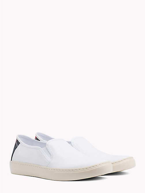 TOMMY JEANS Lightweight Signature Slip-Ons - WHITE - TOMMY JEANS Summer shoes - main image