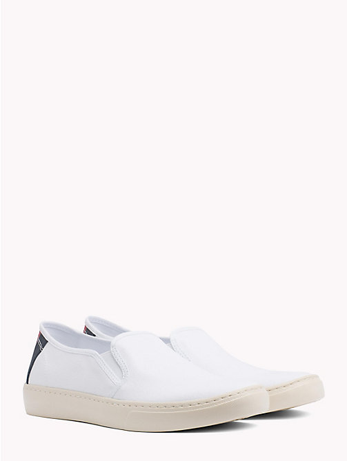 TOMMY JEANS Leichter Slipper mit Branding - WHITE - TOMMY JEANS Sommerschuhe - main image