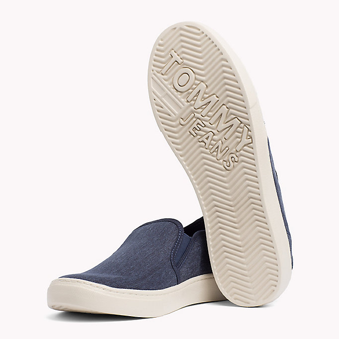 TOMMY JEANS Lightweight Signature Slip-Ons - WHITE - TOMMY JEANS Men - detail image 1