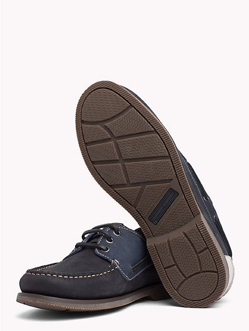 TOMMY JEANS Winter Boat Shoes - INK - TOMMY JEANS Loafers & Boat Shoes - detail image 1