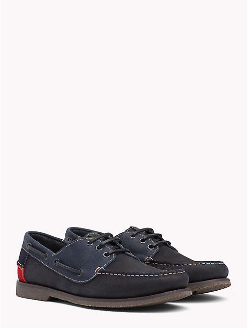 TOMMY JEANS Winter Boat Shoes - INK - TOMMY JEANS Loafers & Boat Shoes - main image