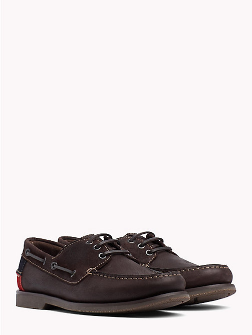 TOMMY JEANS Winter Boat Shoes - COFFEEBEAN - TOMMY JEANS Loafers & Boat Shoes - main image