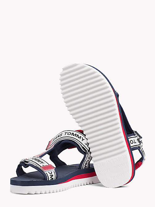 TOMMY JEANS Signature Rafting Sandals - MIDNIGHT - TOMMY JEANS Festivals Season - detail image 1