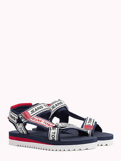 TOMMY JEANS Signature Rafting Sandals - MIDNIGHT - TOMMY JEANS Festivals Season - main image