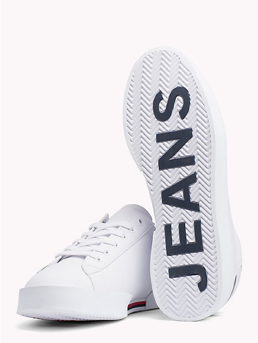 TOMMY JEANS Lightweight Low Profile Trainers - WHITE - TOMMY JEANS VACATION FOR HER - detail image 1