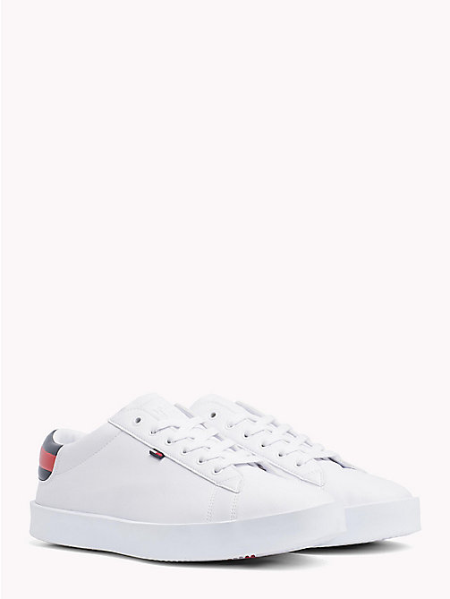 TOMMY JEANS Lightweight Low Profile Trainers - WHITE - TOMMY JEANS VACATION FOR HER - main image