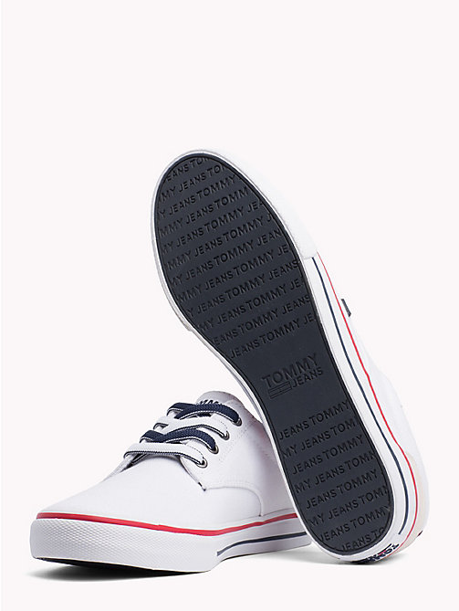 TOMMY JEANS Casual Textile Trainers - WHITE - TOMMY JEANS VACATION - detail image 1
