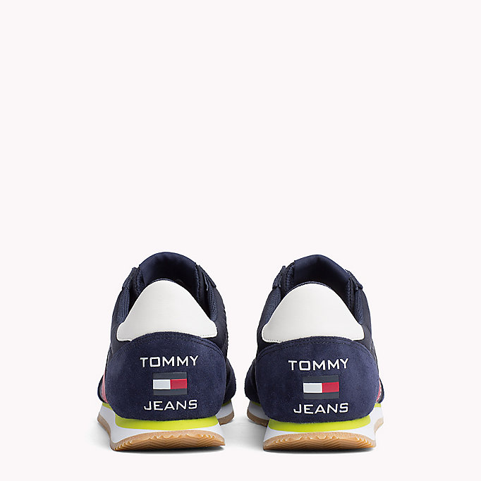 TOMMY JEANS Suede 90s Trainers - BRIGHT WHITE - TOMMY JEANS Men - detail image 2