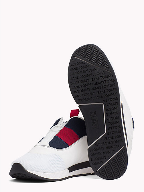 TOMMY JEANS Icon Zip Mesh Trainers - RWB - TOMMY JEANS VACATION - detail image 1