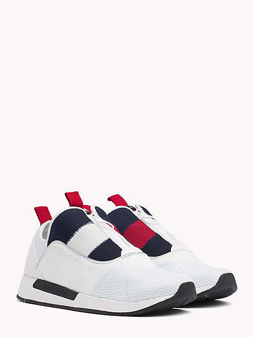TOMMY JEANS Icon Zip Mesh Trainers - RWB - TOMMY JEANS Shoes & Accessories - main image