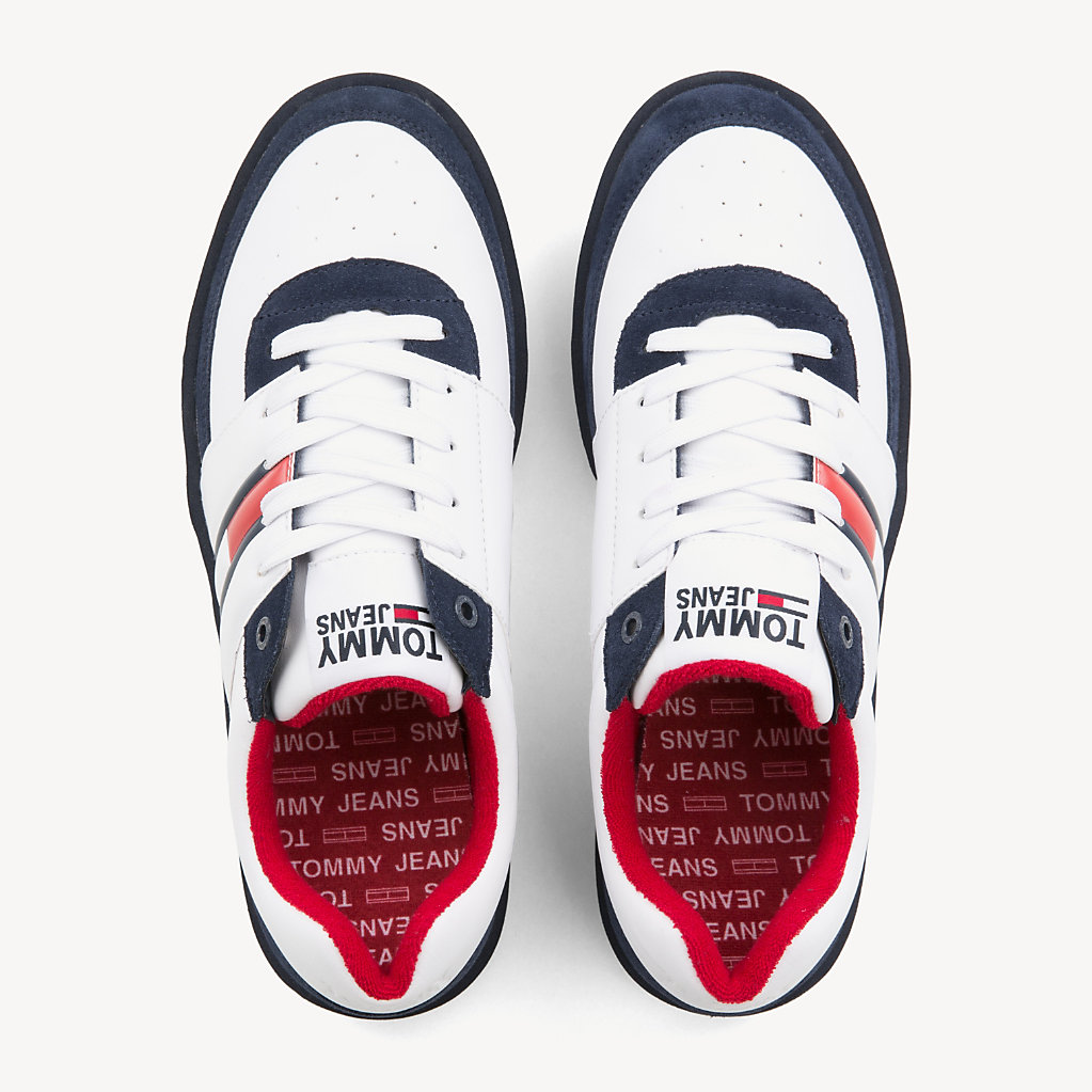 Tommy Hilfiger - Lightweight Colour-Blocked Trainers - 4