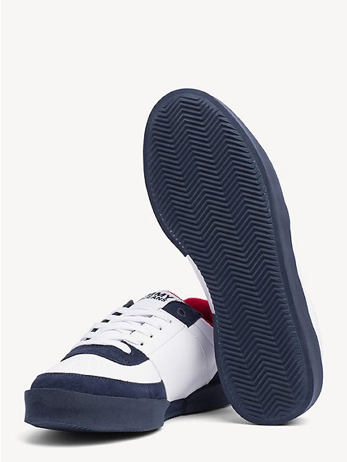 TOMMY JEANS Lightweight Colour-Blocked Trainers - BLACK IRIS - TOMMY JEANS NEW IN - detail image 1